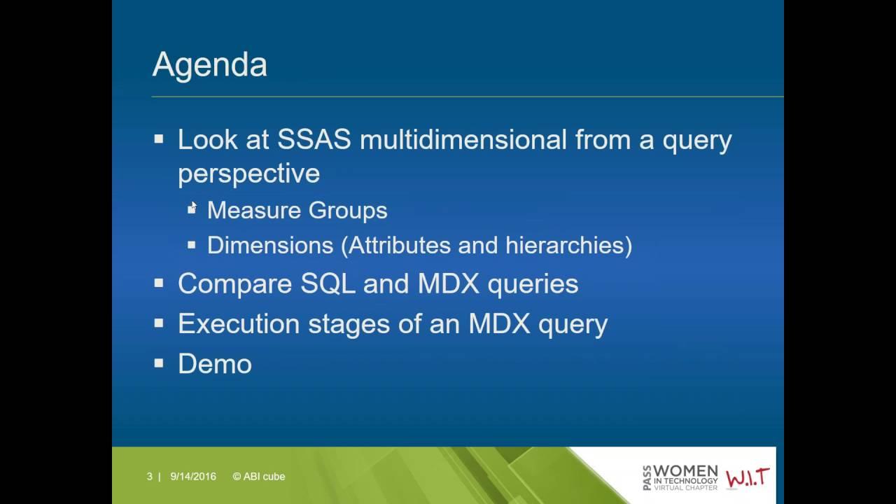 Ssas beginners guide array a sql developer u0027s guide to mdx basics shabnam watson 9 14 2016 rh fandeluxe Images