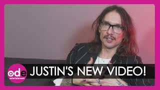 Justin Hawkins raves about Abbey Clancy in The Darkness' new video!