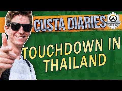 Overwatch World Cup in Thailand | CUSTA DIARIES thumbnail