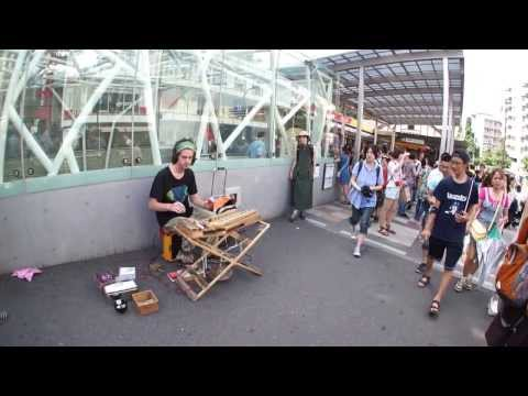 Street Musician in Tokyo