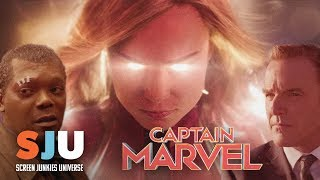 New Captain Marvel Special Look Footage Revealed! - SJU