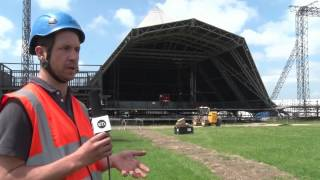 Glastonbury 2015 - Serious Stages - Behind The Scenes