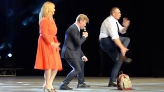 Танцы с Андреем Рожковым на Мисс Екатеринбург
