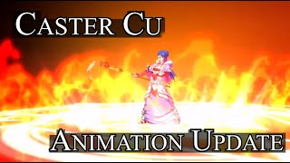 Cu Chulainn (Caster) Animation Update + Noble Phantasm [FGO]