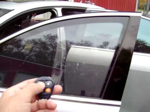 Instant window tint