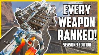 Ranking Every Weapon In Apex Legends Season 3 | Meta Report Gun Tier List