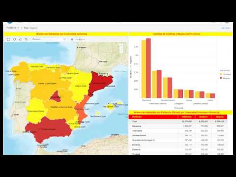Using ESRI Maps To Display Data In Dossier