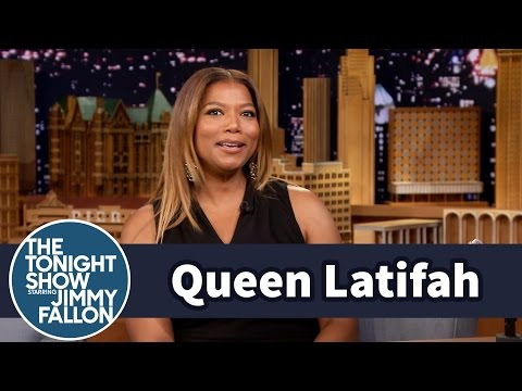 Queen Latifah and Jimmy Swap Prince Stories