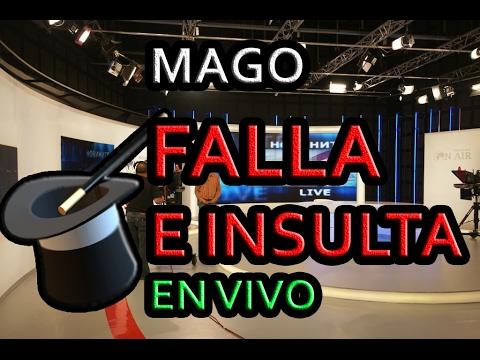 😂 Un MAGO falla en su truco EN TV e INSULTA al presentador 😂