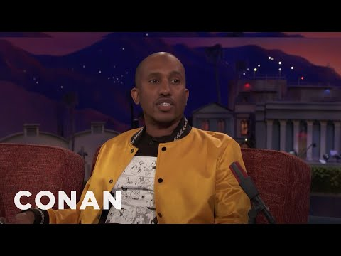 Conan vs. Why Chris Redd Got A Job At Olive Garden
