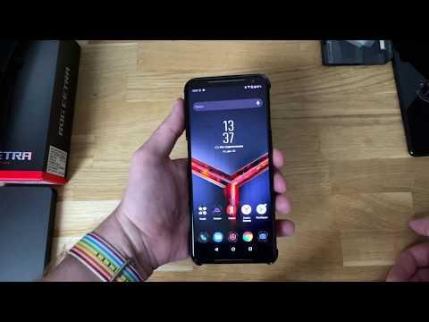 Могучий геймерский смартфон ROG Phone 2 за 69 990 рублей: распаковка и настройка