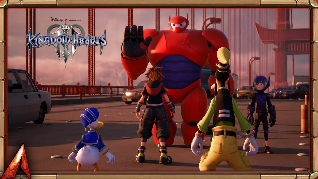 Kingdom Hearts 3 Big Hero 6 San Fransokyo Walkthrough Gameplay Part 12 Kh3 Youtube