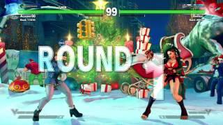 Sfv acezer00(Kolin) vs Relizz(Laura)