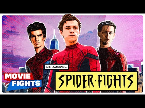 SPIDER-VERSE MOVIE FIGHTS (All Spider-Man Questions)