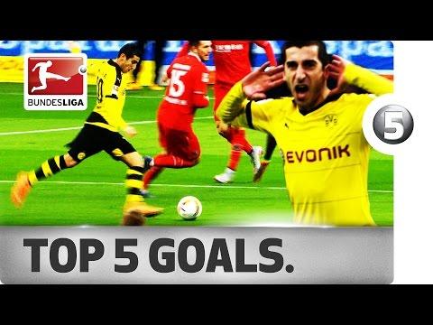 Henrikh Mkhitaryan - Top 5 Goals