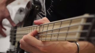 Asking Alexandria - Into The Fire | Bass Cover