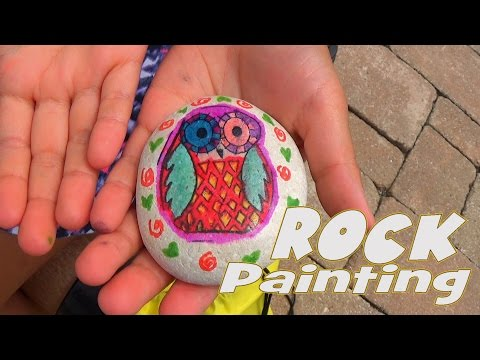 Rock Art Project – Children Drawing & Painting Activity
