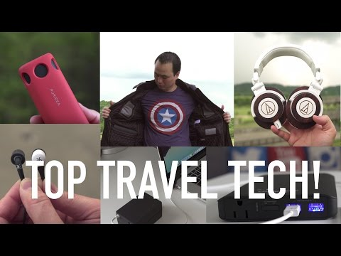 Best Travel Tech Gear! (2016)