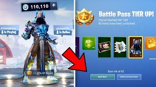 TIER 100 BATTLE PASS dans la saison 7 de Fortnite!