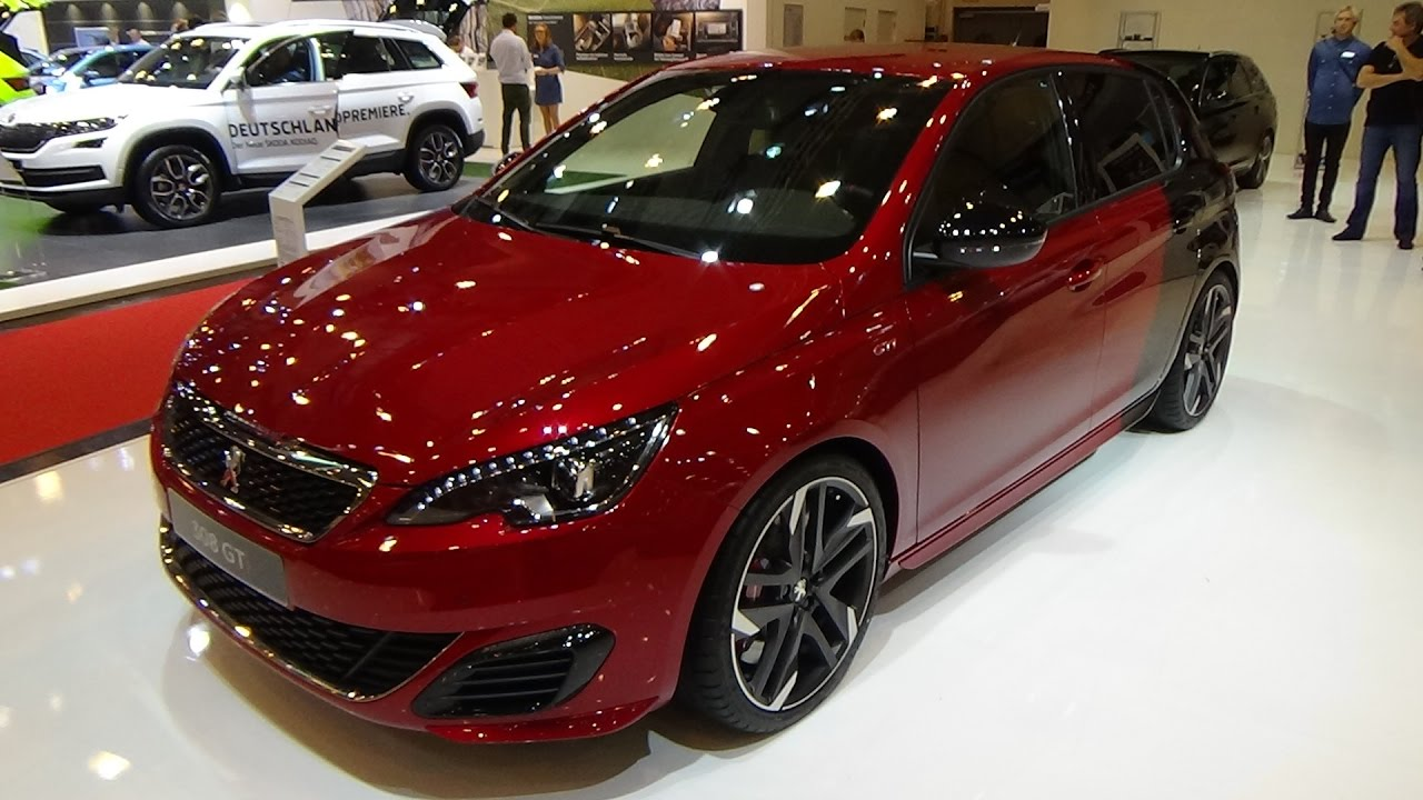 2017 peugeot 308 gti thp 270 by peugeot sport exterior and interior essen motor show 2016. Black Bedroom Furniture Sets. Home Design Ideas