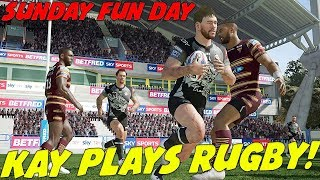 KAY PLAYS RUGBY! SUNDAY FUN DAY!