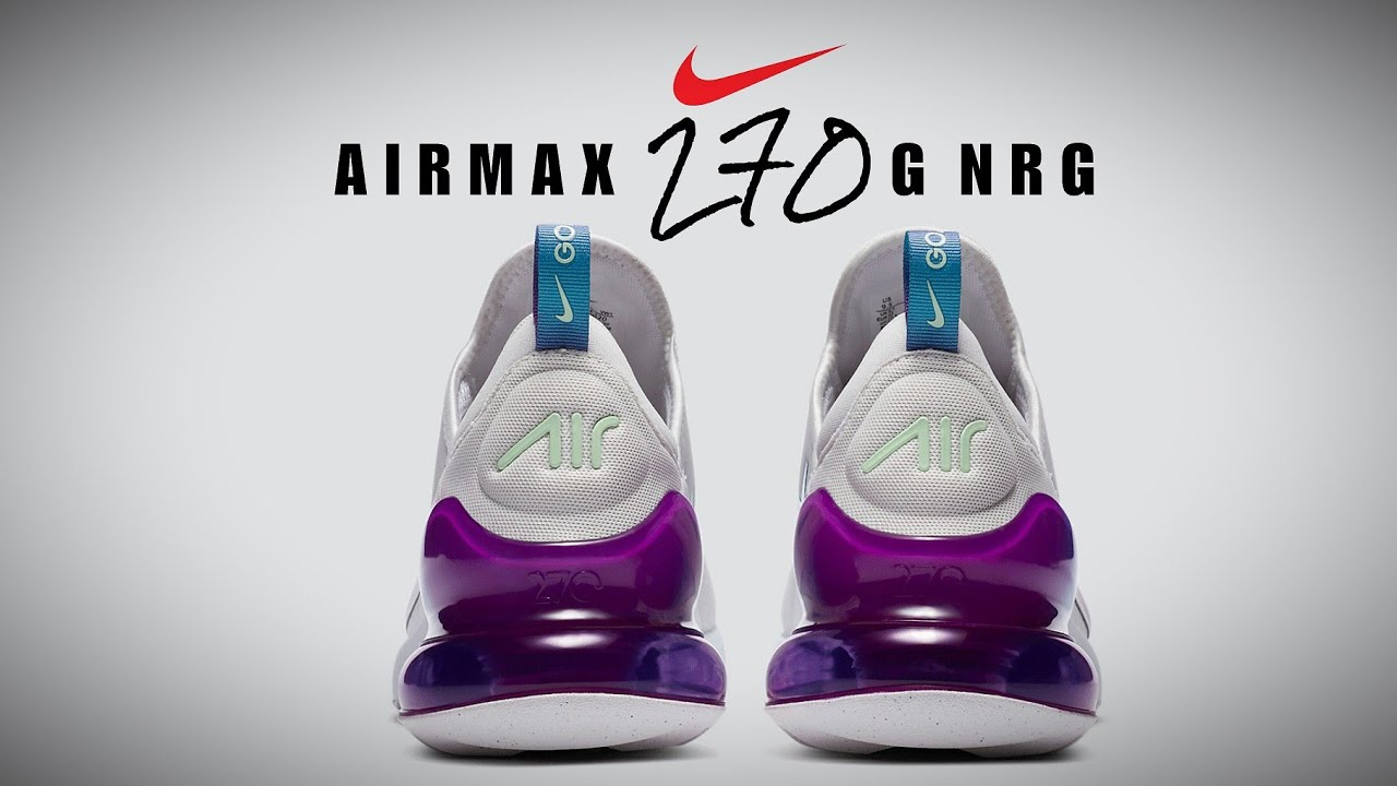 Upcomingrelease Nike Air Max 270 G Nrg Detailed Look Release Info Golf Youtube