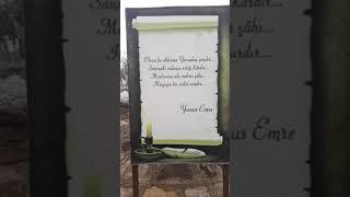 Manisa Kula'da bulunan Taptuk Emre ve Yunus Emre Türbelerini Sizin Için Görüntüledik..