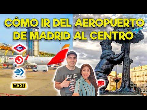 Cómo Ir Del Aeropuerto De Madrid Hacia El Centro - 2019   Destinados A Viajar En España #5