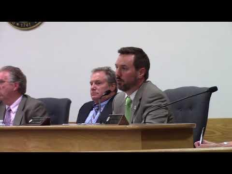 Coventry RI, Town Council Meeting  10-10-17 Part 1