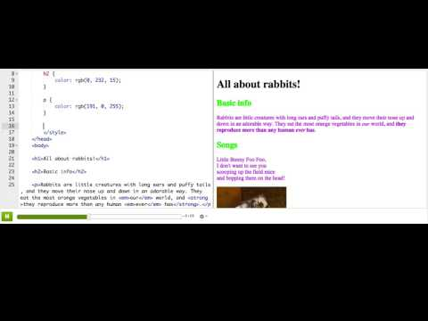 CSS: Selecting by id | Intro to HTML/CSS: Making webpages | Computer Programming | Khan Academy