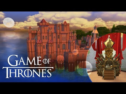 Sims 4 | Game Of Thrones | King's Landing | Part 2