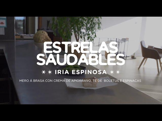Videoreceita de Iria Espinosa: mero a brasa