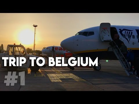 TRIP TO BELGIUM P1 | Ghent Sightseeing | V#2