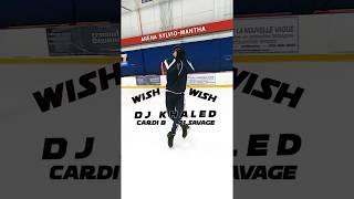 DJ Khaled - Wish Wish ft. Cardi B, 21 Savage on ice