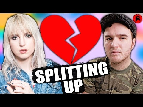Hayley Williams of Paramore & Chad Gilbert Are Splitting Up