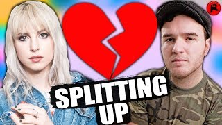 hayley williams of paramore chad gilbert are splitting up