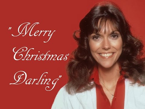 """Merry Christmas Darling"" (Lyrics) ❤ The CARPENTERS ❤ Karen ♫ Richard"