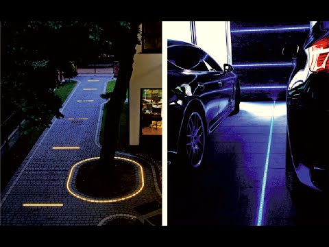Diy How To Use The Led Lights For Driveways And Patios Cobblestone Paths Walks