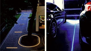 Gambar cover DIY how to use the led lights for driveways and patios,cobblestone paths and walks