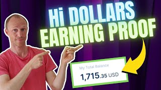 Hi Dollars Earning Pr๐of – How to Withdraw Hi Dollars Step-by-Step (See Passive Earning Proof)