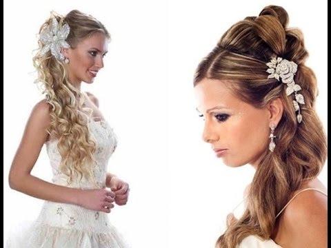 Videos de peinados de novia