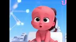 Patron Bebek çizgi Film Karakteri Boyama Renkleri öğreniyorum
