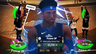 I TOOK MY 99 OVERALL REBOUNDING STRETCH TO 1V1 COURT • CAN THE BEST BUILD IN NBA 2K19 WIN?