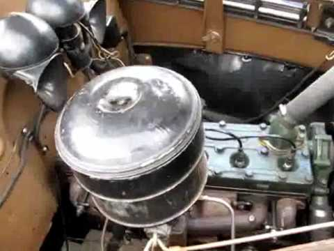 Car Engines For Sale >> 1937 Oldsmobile Six F37 Engine Running - YouTube