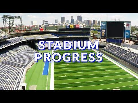 stadium progress georgia state university youtube