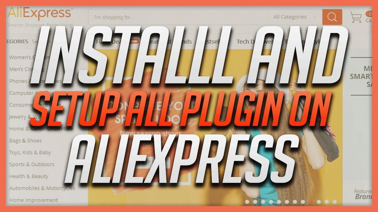 How To Install And Setup Ali Plugin For AliExpress.com