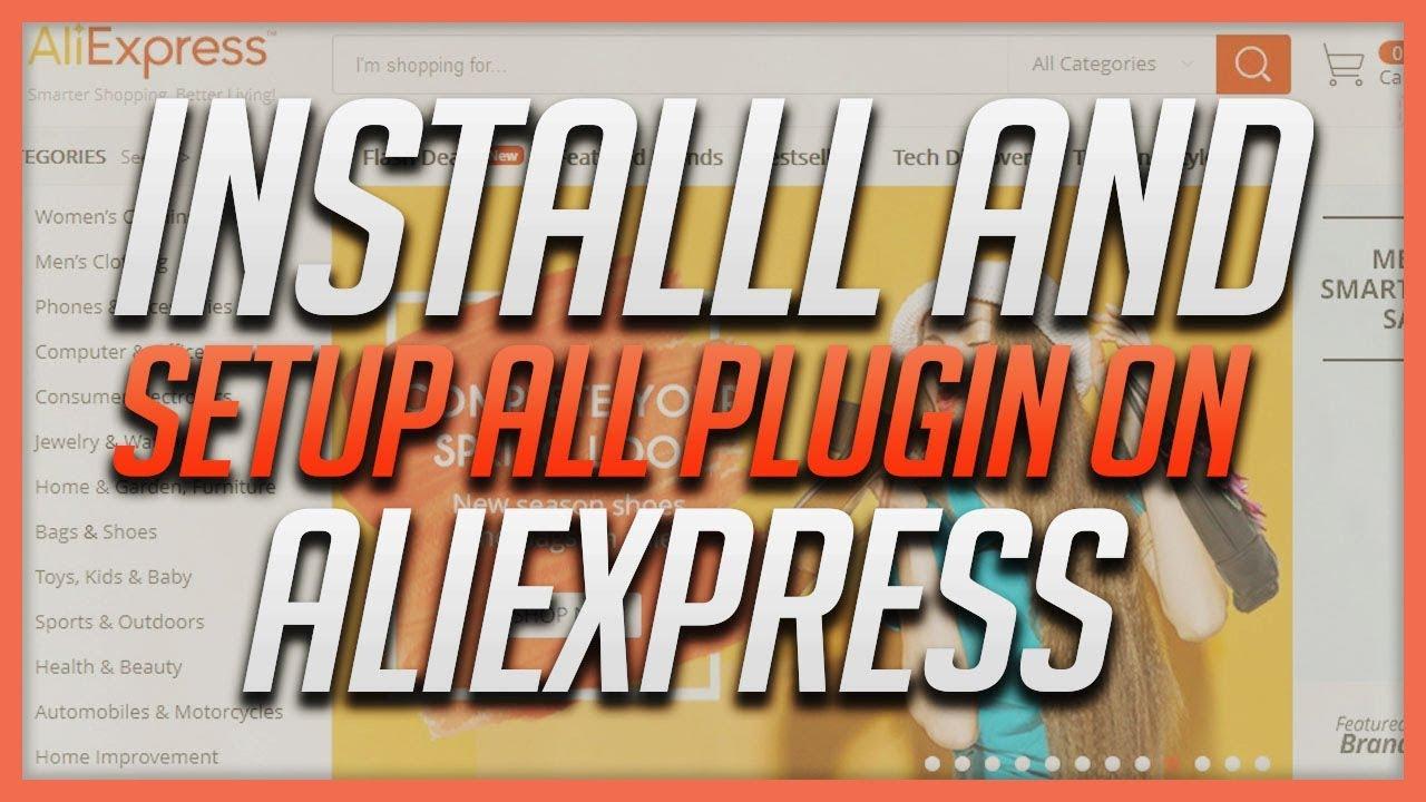 How To Install And Setup Ali Plugin For AliExpress.com
