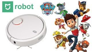 ✅ Щенячий Патруль Мультик ► Самая полезная игрушка - Робот пылесос Mi Robot Vacuum