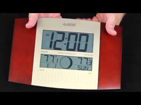 WS-8117U-IT-C Atomic Digital Wall Clock