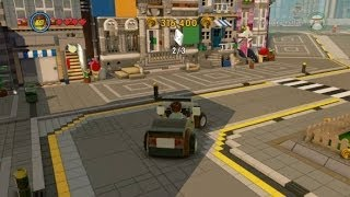 The LEGO Movie Videogame Walkthrough Part 7 - Bricksburg Hub Free Roam Gameplay